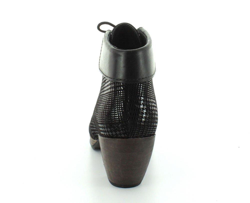 Wolky Damen Sandaletten NV 3204300 Suede Schwarz 278854 schwarz Dessin Suede 3204300 W/schwarz Collar 207321