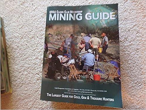GPAA Claim Club Membership Mining Guide Books