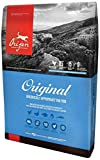 Orijen Original Dry Dog Food 4.5# Bag with FRESH FREE-RUN CHICKEN AND TURKEY, WILD-CAUGHT FISH AND NEST-LAID EGGS