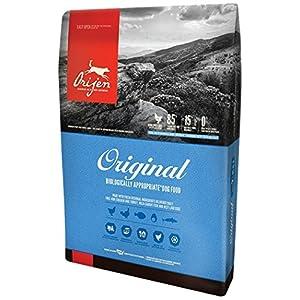 Orijen 4.5 LB Dry Dog Food, Original Formula. 4.5 LB. Bag, (Fresh Free-Run Chicken Turkey, Wild-Caught Fish NEST-Laid Eggs Original Dry Dog Food! 67