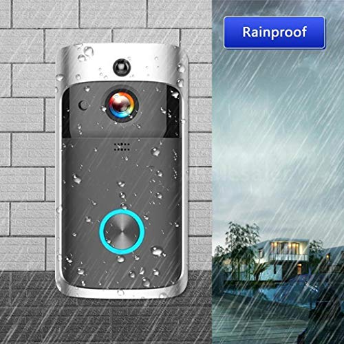 lantusi Durable Practical 166° Wide-Angle Wireless Phone Remote Doorbell Kits by lantusi (Image #6)