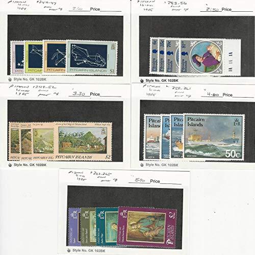 Pitcairn Islands, Postage Stamp, 244//265 Mint NH, 1984-85, JFZ