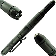 Best Under Control TACTICAL PEN for Self Defense with Built-In LED Flashlight, DNA Defender, & Glass Breaker - Special Military, Police, & SWAT Edition - NEW 2017 VERSION!