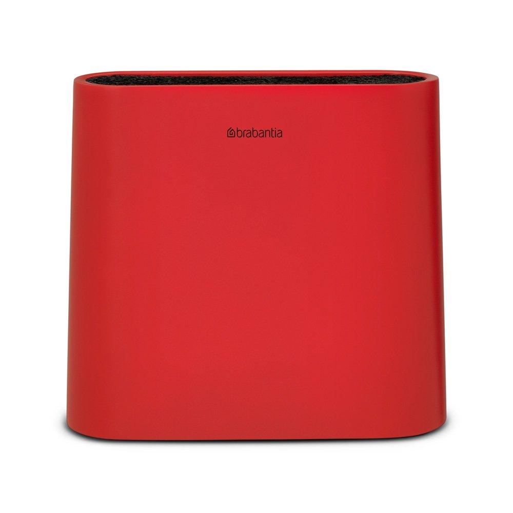 Bloco de Facas Brabantia Vermelho 21Cm X 23Cm X 7. 4Cm