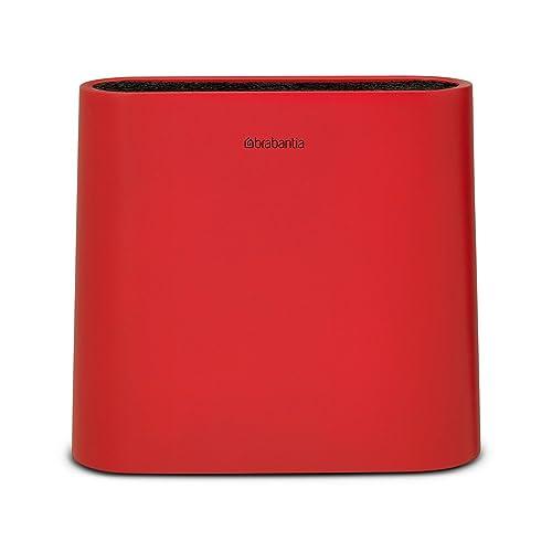 Brabantia Knife Block, Red: Amazon.co.uk: Kitchen & Home