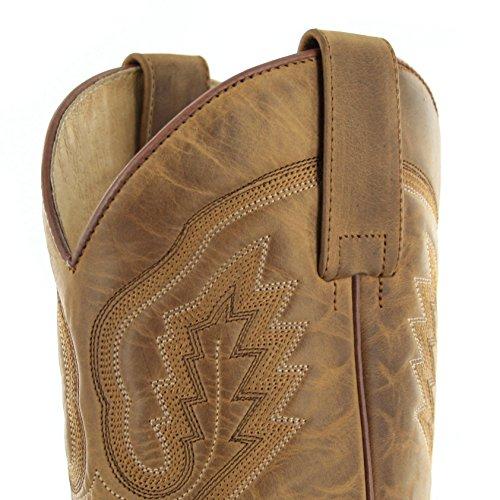 Cowboy Adults' 5357 Sendra Boots Tang Teak Boots Unisex TqIwwt4A
