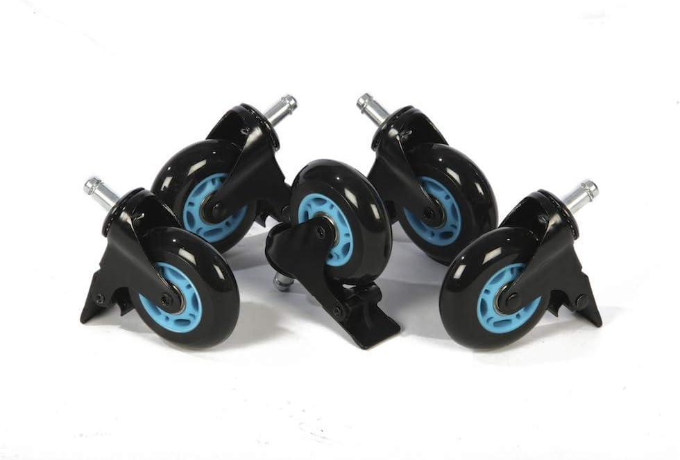 1337 Industries Ruedas PU con Freno (Azul)