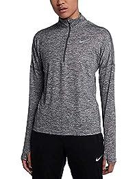 Nike Lady Element Half-Zip Long Sleeve Running Top