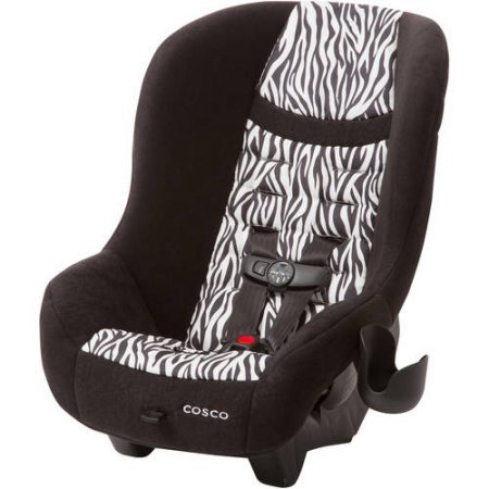Cosco Scenera NEXT Convertible Car Seat, With Easy Front Adjustment | (Zahari Pattern)