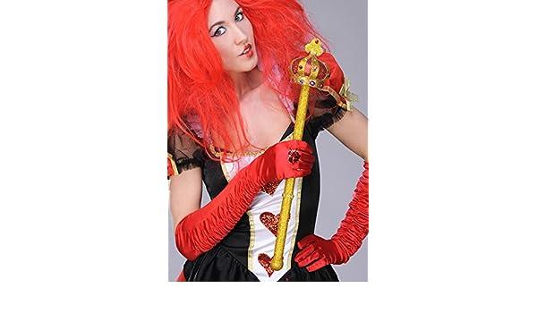 Boland Reina de Corazones Glitter Oro cetro: Amazon.es: Juguetes y ...
