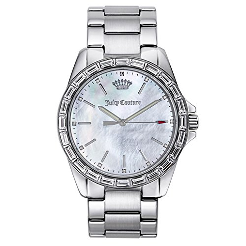 Juicy Couture Women's 1901295 Analog Display Quartz Silver Watch ()