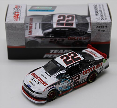 Lionel Racing Joey Logano # 22 Autotrader 2017 Ford Mustang 1:64 Scale ARC HT Official Diecast of NASCAR Xfinity Series.