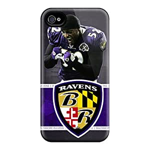 Protective Hard Phone Case For Iphone 6 With Allow Personal Design Attractive Baltimore Ravens Series InesWeldon