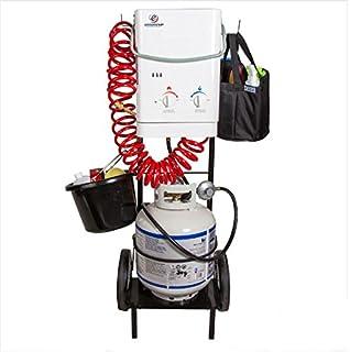TTulpe® Easy Up Carrito para Calentador de Agua, Negro, 119 cm