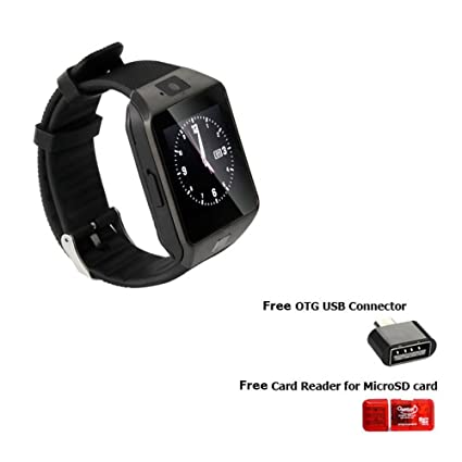 2a787c8e3 Image Unavailable. Image not available for. Colour  Original DZ09  Smartwatch Phone For Android IOS Bluetooth