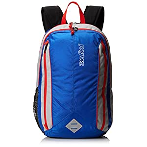 "JanSport Spark Backpack - Blue Streak/High Risk Red / 18.5""H x 12""W x 10""D"