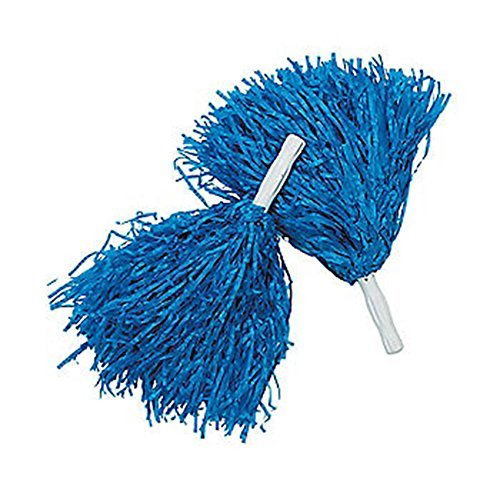 Royal Blue Pom Poms (1 Dozen)