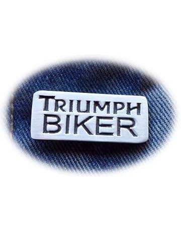 TRIUMPH SPORTS PIN BADGE COLLECTIBLE LOGO PIN $6.99 GREAT GIFT FREE SHIPPING!