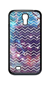 Cool Painting galaxy space universe and Chevron pattern Snap-on Hard Back Case Cover Shell for Samsung GALAXY S4 I9500 I9502 I9508 I959 -764 by icecream design