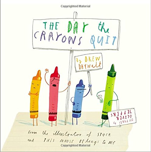 Book Cover: The Day the Crayons Quit