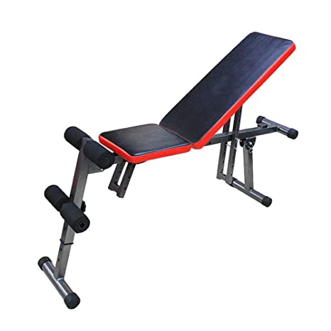 Amazon.com : Xiuzhifuxie Sit Up AB Incline Bench Gym Equipment Banco De Mancuernas Con Sede En El Hogar Y Abdominales Banco De Mancuernas Con Múltiples ...