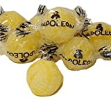 Yellow Lemon Napoleon Sour Bon Bons Candy 1LB Bag