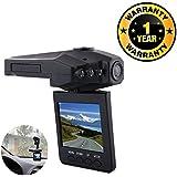 Cospex Car DVR Dash Cam Driving Recorder Mini Portable 1080p HD Cam Compatible with Xiaomi, Lenovo, Apple, Samsung, Sony, Oppo, Gionee, Vivo Smartphones (One Year Warranty)