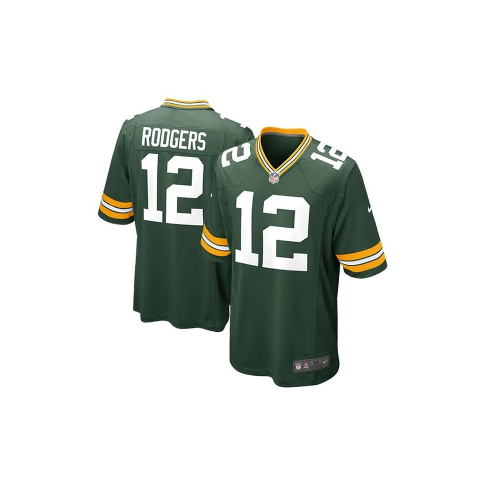 Green Bay Packers Nike Game Jersey - Green - Medium, 12 - Aaron Rodgers