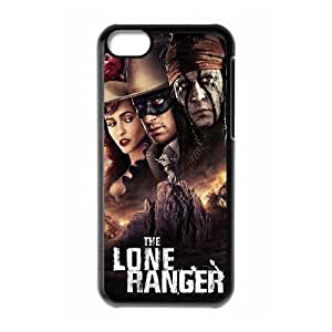 iphone5c phone cases Black Lone ranger cell phone cases Beautiful gifts YWRD4649290