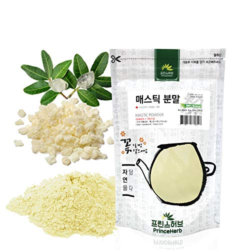 [Medicinal Herbal Powder] Natural Mastic Powder, 매스틱 가루 (8 oz)
