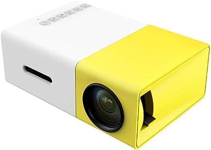 yg300 Mini proyector, portátil LED proyector Home Cinema Theater ...