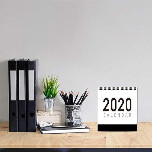 Kylewo Calendario de Escritorio 2020, Agosto de 2019 ...