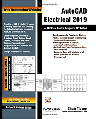 Amazon com: AutoCAD Electrical 2019 for Electrical Control Designers