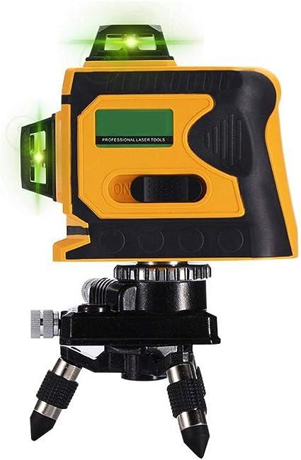 Livella laser 12 linee livella a bolla 3d livella a 360 gradi orizzontale e verticale croce super potente livello laser verde