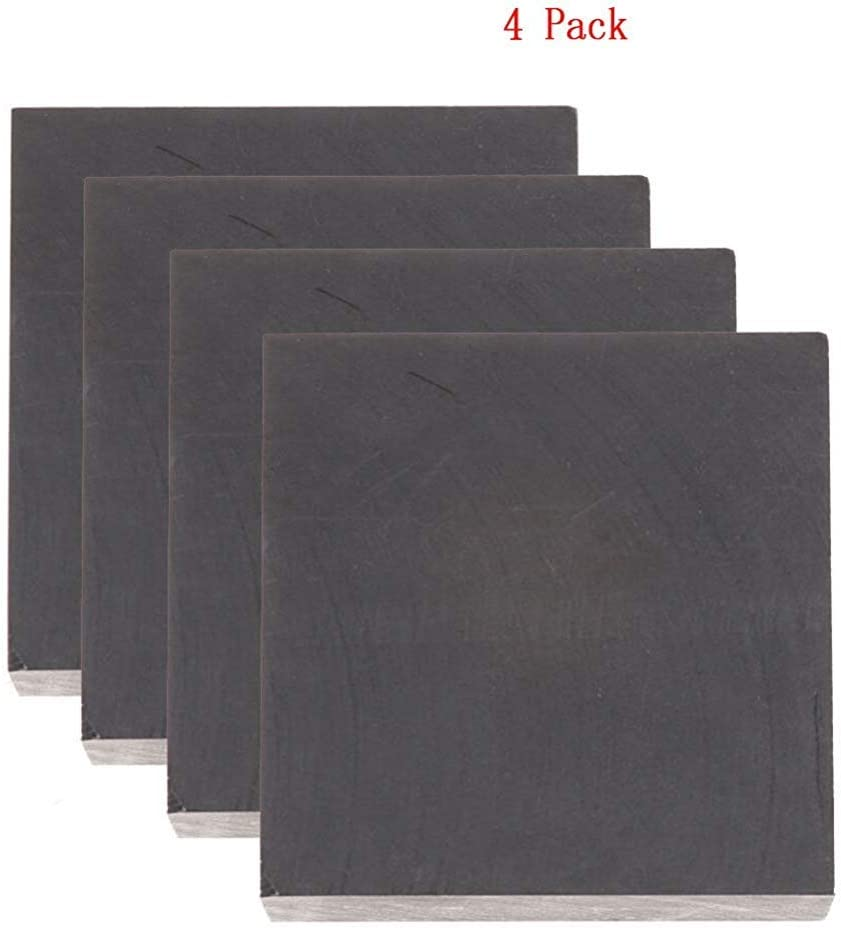 "Graphite Blank Block Sheet Plate High Density Fine Grain 3//8/"" x 8/"" x 8/"""