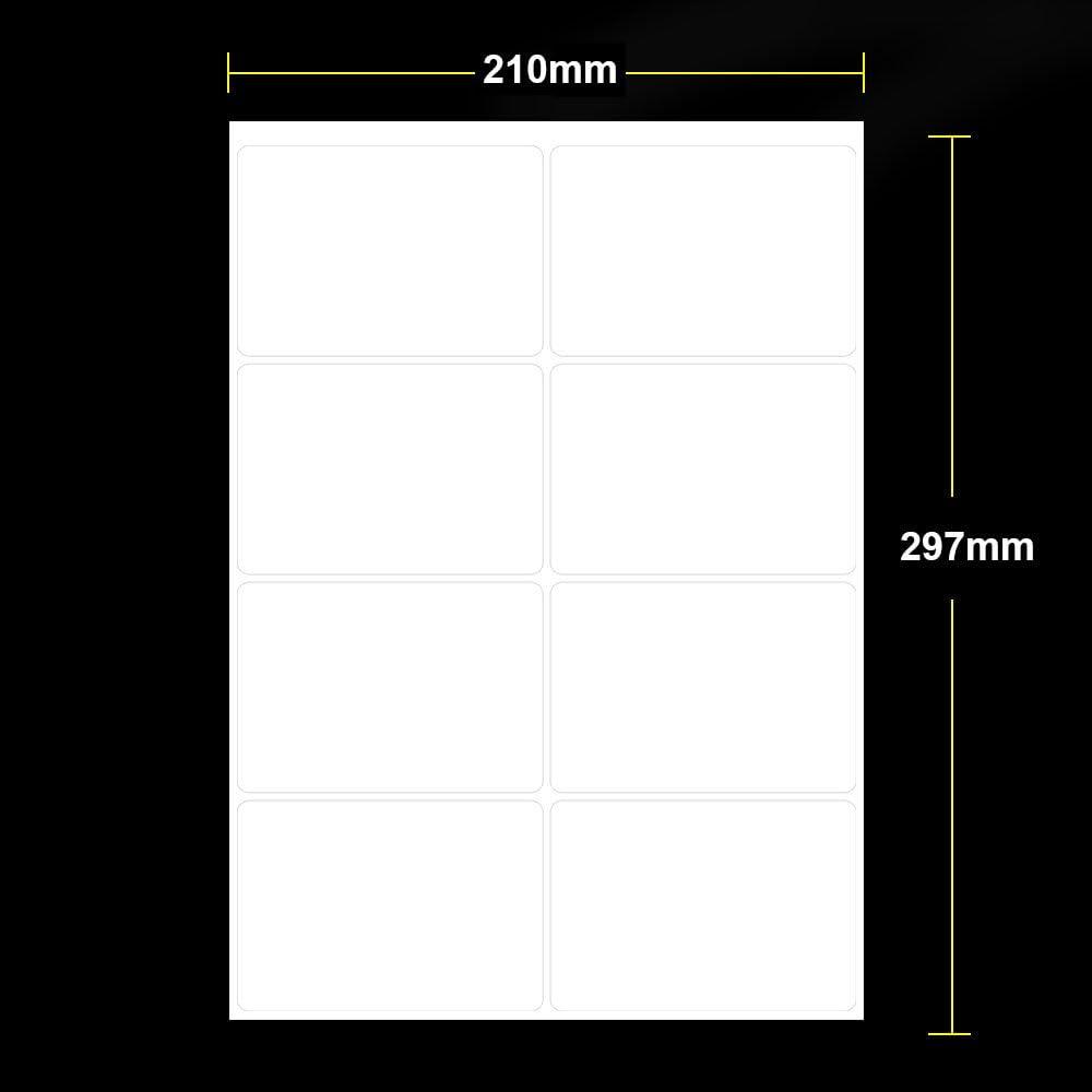 100 pezzi 100 x 70 mm DASKOO a getto dinchiostro Etichette autoadesive per stampante laser formato A4