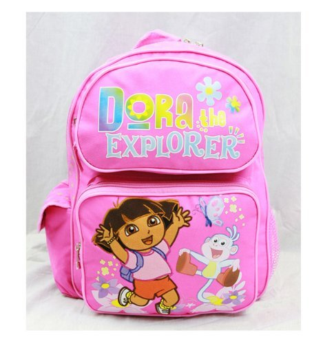 Dora the Explorer Medium Backpack with Jumping Stiefel