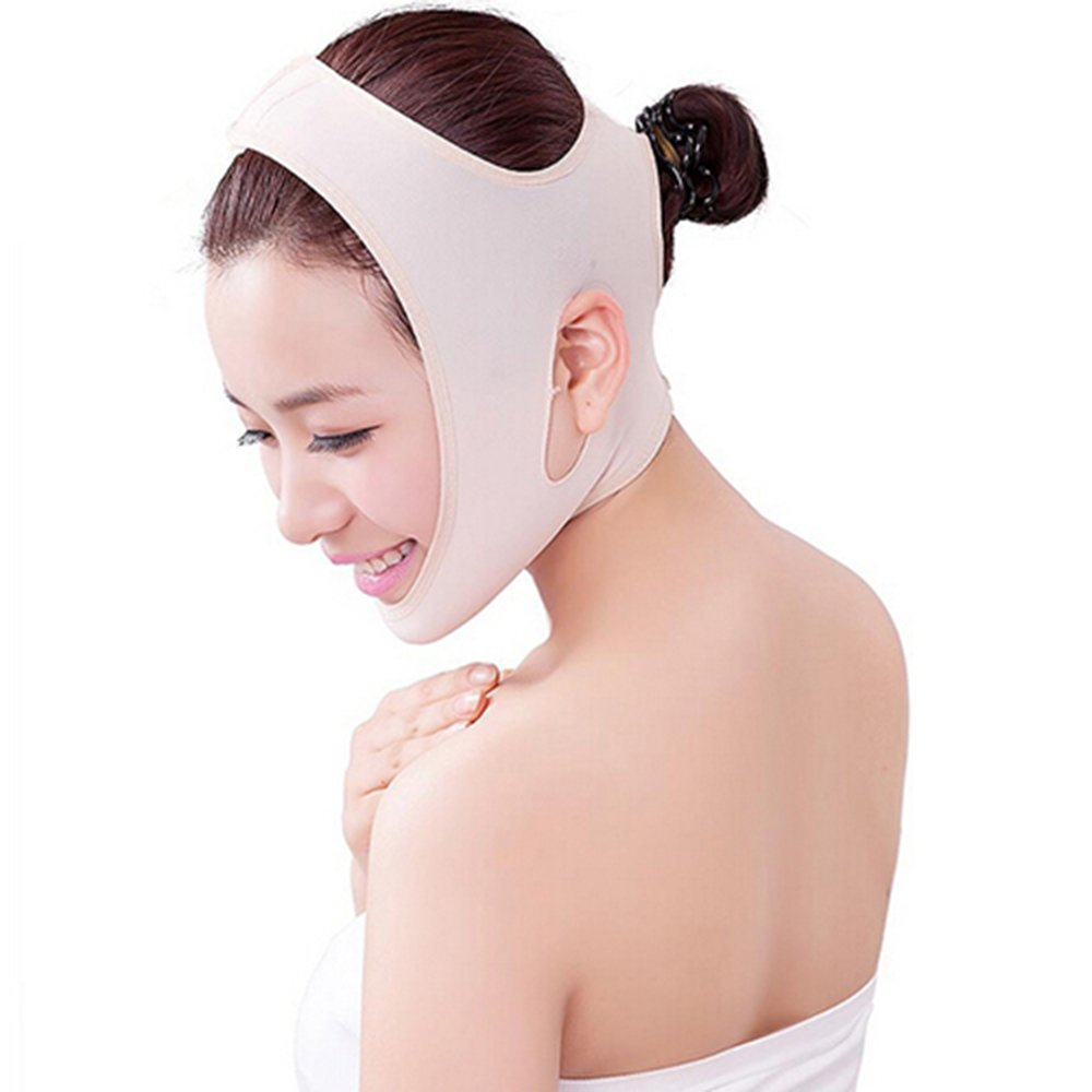 Anti Wrinkle Face-lift Slimming Cheek Mask V Face Chin Cheek Lift Up Face Slim Mask Ultra-thin Belt Strap Band Brussels08