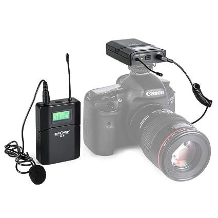 M-8 UHF Unidireccional Wireless Lavalier Microfonos & Sistemas con ...