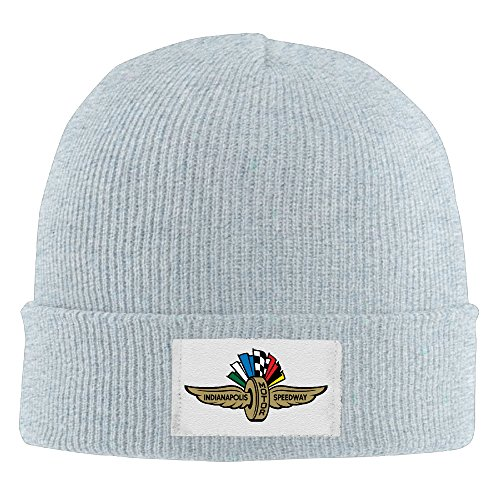 xtreme-beanie-hat-indianapolis-motor-speedway-for-unisex-ash