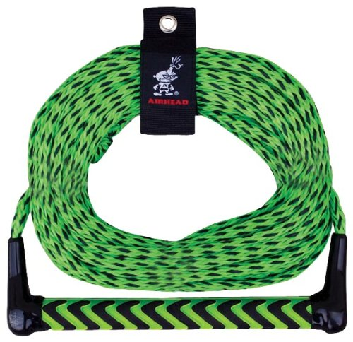 (AIRHEAD Watersports Rope, EVA Handle, 1 Section)