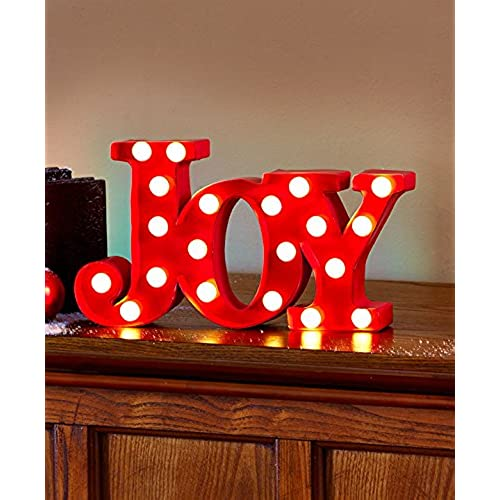 Holiday Joy Marquee Signs