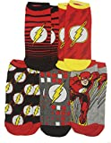 DC Comics The Flash Barry Allen 5 Pack Ankle Socks