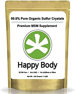 Amazon Com Organic Sulfur Crystals 99 Pure Msm Crystals Premium