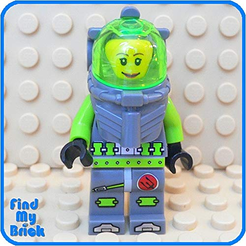M930 Lego Atlantis Diver Minifigure with Female Head [ New Lego Sold Loose as Image Show ]