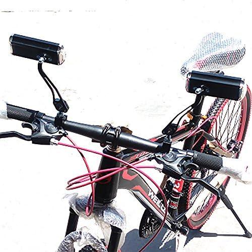 VANKER 1 par aluminio bicicleta espejo retrovisor para bicicleta ...