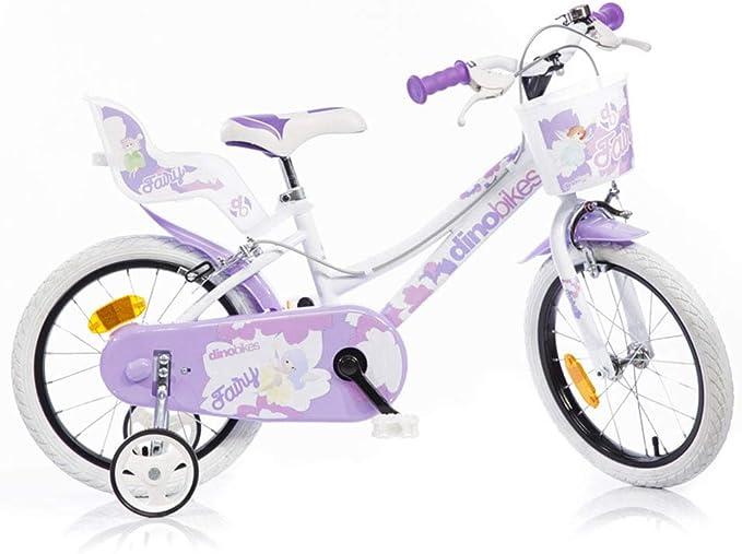 Dino Bikes - Bicicleta Infantil para niña, 16 Pulgadas, Color ...