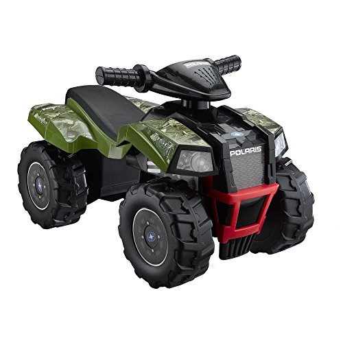 Polaris Kids Atv (Polaris Green HD Camo Scrambler ATV, Green)