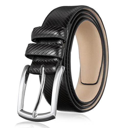 Mens Premium Leather Dress Belt (Men's Genuine Leather Dress Belt with Premium Quality - Classic & Fashion)