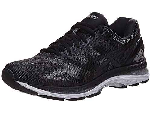 ASICS Men's Gel-Nimbus 19 Running Shoe, Black/Onyx/Silver, 11 M US